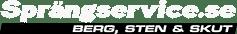Sprängservice Logotyp